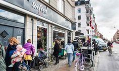 Danish supermarket selling expired food opens second branch Expired Food, Food Bank, Aarhus, Food Waste, The Guardian, Denmark, Hong Kong, Street View, Japan