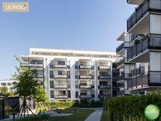 Foto Innenhof - Leopold+  #Schwabing #München #Leopoldstraße #Referenz #Demos #Fotografie #Photographie #Architektur #Neubau #Neubauprojekt #Eigentumswohnungen