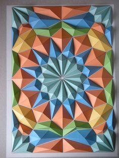Dodecagon Mosaics.  papercraft