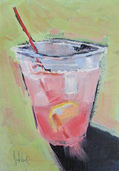 Art ORIGINAL OIL Painting OOAK Lemonade 'In the by AndolsekArt, $79.00