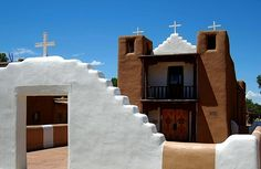 Historic San Geronimo Mission - Taos Pueblo New Mexico,United States