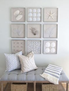 Bring Home Some Seashells | Beachy Living Room Ideas: How to Bring the Beach To Your Home