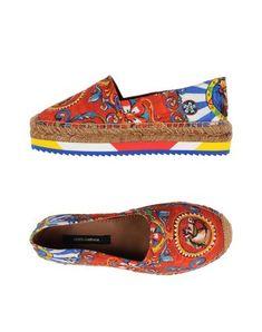 DOLCE & GABBANA Espadrilles. #dolcegabbana #shoes #에스파드류