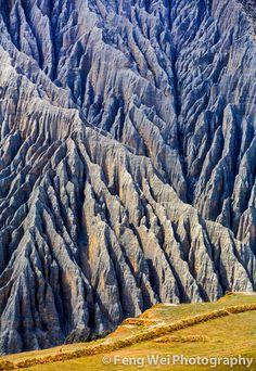Kuitun Grand Canyon, located in Karamay, Xinjiang province of China ✯ ωнιмѕу ѕαη∂у
