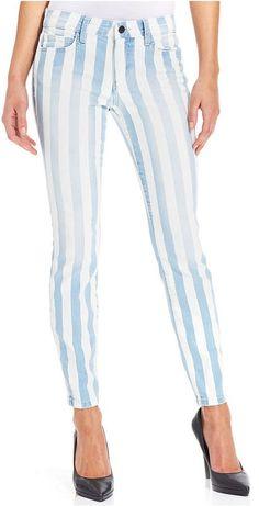 Pin for Later: Amerikanischer Patriotismus sah noch nie besser aus Joe's Jeans Striped Skinny Jeans Joe's Jeans Striped Skinny Jeans ($169)