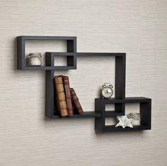 Floating Wall Shelves Decor Shelf Display Storage Book Wood Mount Home Furniture #DanyaB