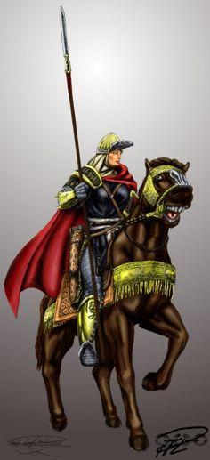 Fantasy mamluk female warrior