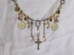Repurposed Vintage Jewelry Necklaces - Bing Images
