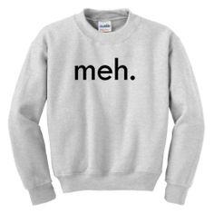 Meh Youth Crewneck Sweatshirt Small Ash ThisWear,http://www.amazon.com/dp/B00B85NPCQ/ref=cm_sw_r_pi_dp_uEOOsb0SP7HRR3HE