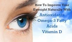 How to improve your eyesight naturally and Ditch your glasses forever with real food!