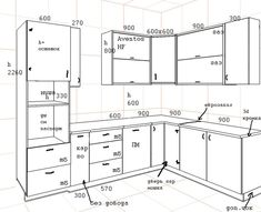 Kitchen Layout Plans, Kitchen Layouts With Island, Kitchen Pantry Design, Home Decor Kitchen, Kitchen Interior, Kitchen Wall Cabinets, Kitchen Cabinet Styles, Diy Cabinet Doors, Kitchen Measurements