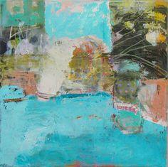 oil on canvas, Nina Rostkowska