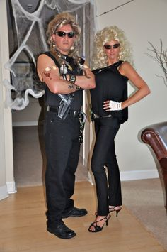 Cool Dog the Bounty Hunter and Beth Costume | LOL ...