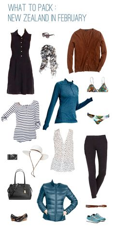What to Pack for 4 Weeks in New Zealand in February