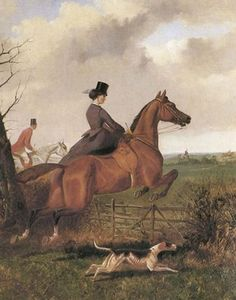 John Sturgess - Lady Julia Middleton Sidesaddle And Sir Tatton Sykes 1870 Archival Fine Art Paper Print Hunting Painting, Hunting Art, Fox Hunting, Painted Horses, Horse Sketch, Horse Artwork, Equestrian Decor, Vintage Horse, Horse Print