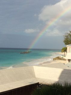 View from Barbados beach club hotel