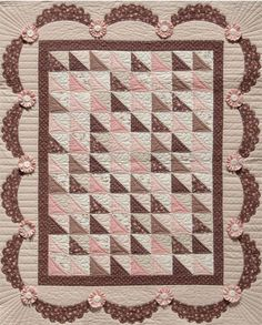 love the rosettes  Sophie - BB Pattern