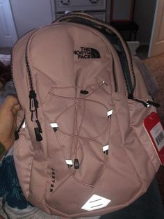 The North Face Women's Jester Luxe Backpack - College-Look Mochila Herschel, Mochila Nike, Herschel Rucksack, Kanken Backpack, Herschel Backpack Outfit, Adidas Backpack, Fashion Backpack, North Face Backpack School, North Face Rucksack