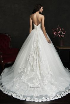 2016 New Amelia Sposa.  [I really like the way they've added trim in a wedge-shaped area of the back.]