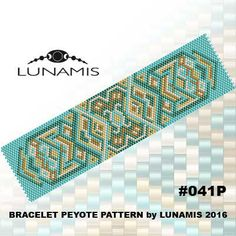 PATTERN ONLY. Create this beautiful peyote cuff bracelet.  Miyuki Delica Beads size 11/0 Odd count with 5 bead colors. 31 bead columns by 91 bead rows. Width: 1.6 (4,2 cm) Length: 6.2 (16 cm)   Patterns include: - Large colored numbered graph paper (and non-numbered in another files) - Bead legend (numbers and names of delica beads colors ) - Word chart - Pattern preview  This pattern is intended for users that have experience with even count peyote and the pattern itself does NOT include…