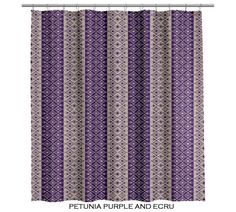 Purple Moroccan Shower Curtain (107) | Home Ideas