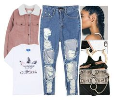 """""""*"""" by abigail-petion ❤ liked on Polyvore featuring Casetify, Nordstrom, adidas Originals and Chloé"""