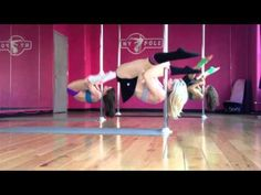 I will never complain about strength training again. NY Pole - Invert Drills. Oh snap this looks intense!