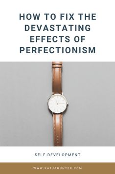 How to fix the devastating effects of perfectionism. You want to learn how to get rid of perfectionism if you want to live a successful and joyful life. Self Development, Personal Development, Definition Of Self, The Gift Of Imperfection, Feeling Lost, Self Compassion, Kaizen, Being Good, Creative Thinking