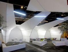 sala-vip-arcomadrid-2014-emmanuel-romero-stua (6) Sala Vip, Parametric Design, Relax, Ceiling Lights, Cool Stuff, Building, House, Recipes, Home Decor