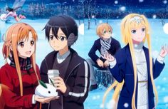 Sword Art Online Alicization Fan Art on We Heart It Kirito Sword, Kirito Asuna, Sword Art Online Kirito, Sword Art Online Poster, Sword Art Online Wallpaper, Arte Online, Online Art, Sao Anime, Online Anime