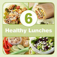 6 Healthy Lunch Ideas