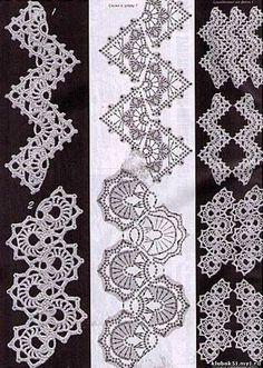 Crocheted Ribbon Lace | protsenka