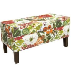 Shop for Skyline Furniture Lilith Marigold Storage Bench. Get free shipping at Overstock.com - Your Online Furniture Outlet Store! Get 5% in rewards with Club O!