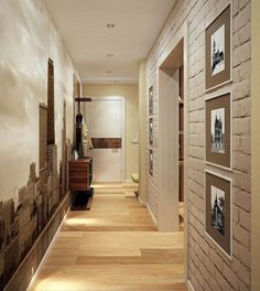 Order interior design: the best finished projects in the catalog with photos on - - Entrance Foyer, Entryway Decor, Halls, Corridor Design, Porche, Lampe Led, Hallway Decorating, Minimalist Interior, Ceiling Design