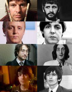 Beatles Next Generation: Zak Starr, James McCartney, Sean Lennon & Dhani Harrison.