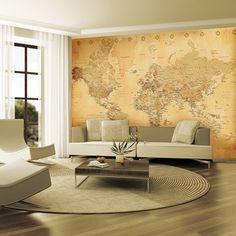 2.32X3.15M Large Wall Mural-OLDMAP-001-Wall