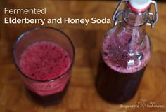 If you won't EAT your probiotics, surely you'll DRINK them! Here are probiotic and fermented drinks beyond Kombucha and kefir, including kvass and mead! Elderberry Honey, Elderberry Recipes, Probiotic Drinks, Fermented Foods, Kefir, Home Brewing, Herbal Remedies, Natural Remedies, Healthy Drinks