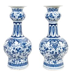 1stdibs | A Pair of Blue and White Delft Vases