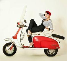 The Scooterist: Lambretta girl