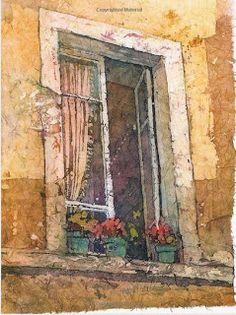 Let's Make a Painting: Watercolor Batik