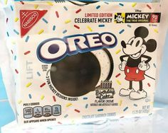 Wonderful Picture of Birthday Cake Oreo . Birthday Cake Oreo New Birthday Cake Oreos Are On The Way To Celebrate Mickey Mouse Birthday Cake With Photo, New Birthday Cake, 90th Birthday, Happy Birthday, Mickey Mouse Oreos, Mickey Mouse Birthday Cake, Nabisco Oreo, Bithday Cake, Birthday Cake Flavors