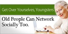 busting the Myth of Seniors using social networking #SYLink