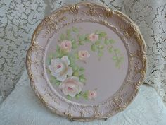 ANNIE SLOAN ANTOINETTE PINK TRAY ~ So Pretty! artist, sunny-sommers  Get It On EBAY