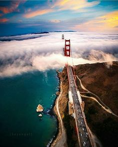 Hello by Engel Ching - The Best Photos of San Francisco including the Golden Gate Bridge, Fisherman's Wharf, the Cable Cars and other popular San Francisco sites and attractions. San Francisco California, California Dreamin', West Coast Usa, Places To Travel, Places To See, Puente Golden Gate, San Francisco Sites, Reisen In Die Usa, Nature Landscape