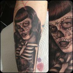tat laura satana on pinterest bettie page tattoo artists and skeletons. Black Bedroom Furniture Sets. Home Design Ideas