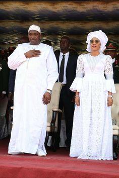 ( 05 Photos ) Fête de l'indépendance la Gambie: Les 2 épouses de Adama Barrow toujours en… – Dakarbuzz