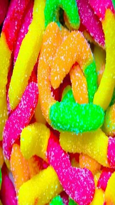 Sour gummy worms......... what! !!