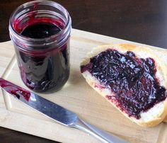Vanilla Blueberry Butter  ~  smooth and thick, with an almost creamy consistency.