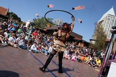 Seaport Village comes alive with a celebration of street performers during the Spring Busker Festival, March 24 – 25. In a battle of entertainment, extraordinary, one-of-a-kind performers including jugglers, sword swallowers, comedic stuntmen and Didgeridoo players take to Seaport Village's cobblestone streets for a weekend of outdoor family amusement.