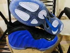12a8c3f9209 Cheap Nike Foamposite One Kids shoes  blue Only Price  52 To Worldwide
